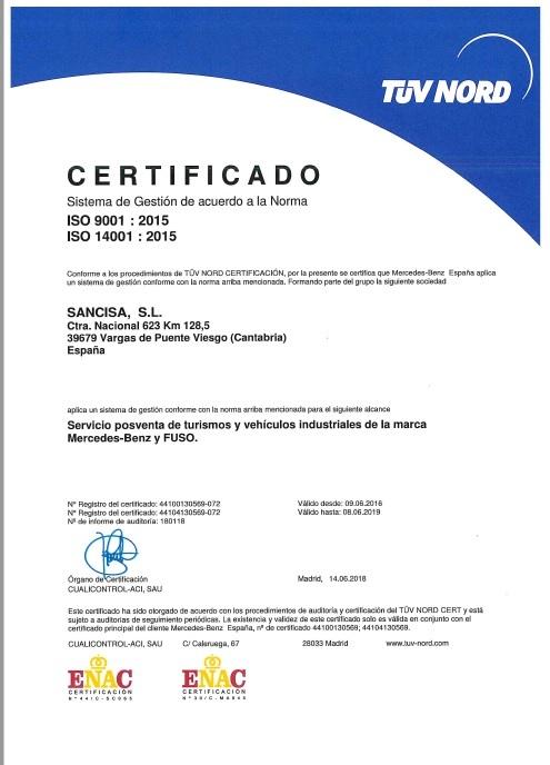 imagen certificado ISO