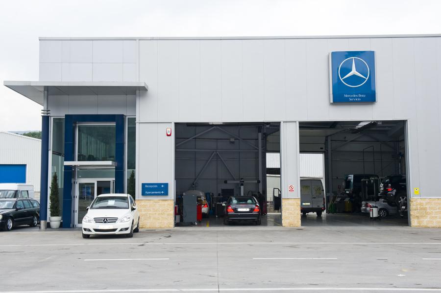 Revisión pre itv camiones Mercedes BenzCantabria Sancisa