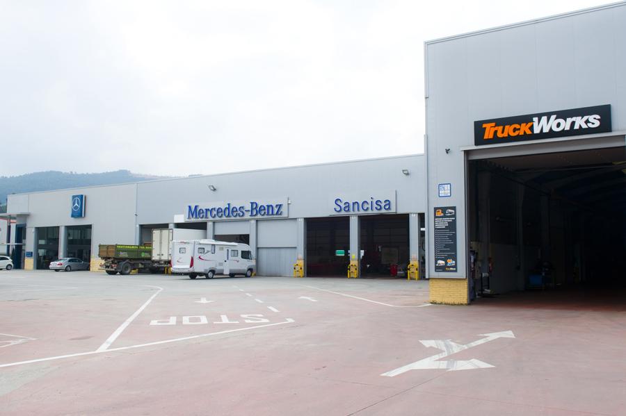 Talleres electricos Mercedes Benz Cantabria